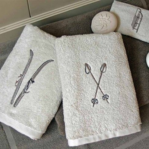 Snow Day Towel Collection Trop cute @Ingrid Lareault