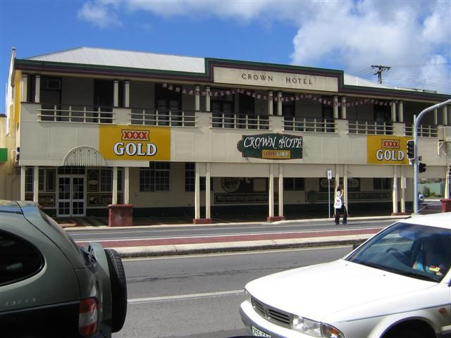QLD - Innesfail North - Crown Hotel - http://crownhotelinnisfail.com.au/
