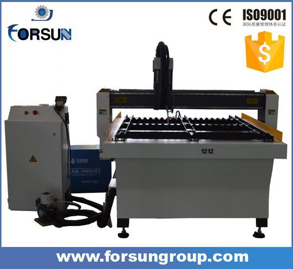 Jinan manufacture! Good quality portable mini cnc plasma cutter Metal Sheet Cutting Machine for aluminum copper SS