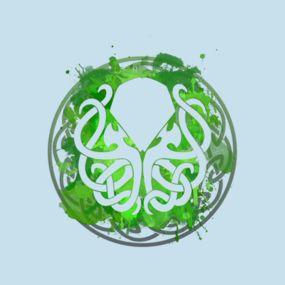 Cthulhu Octopus Celtic Design