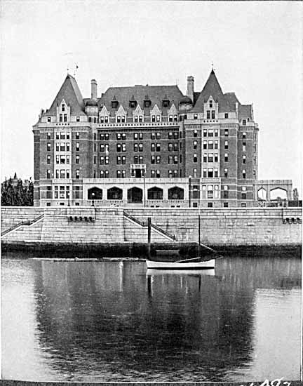 The Empress Hotel. 1905. Designed by Francis Rattenbury. #Rattenbury #Victoria #History #Scandal #British Columbia