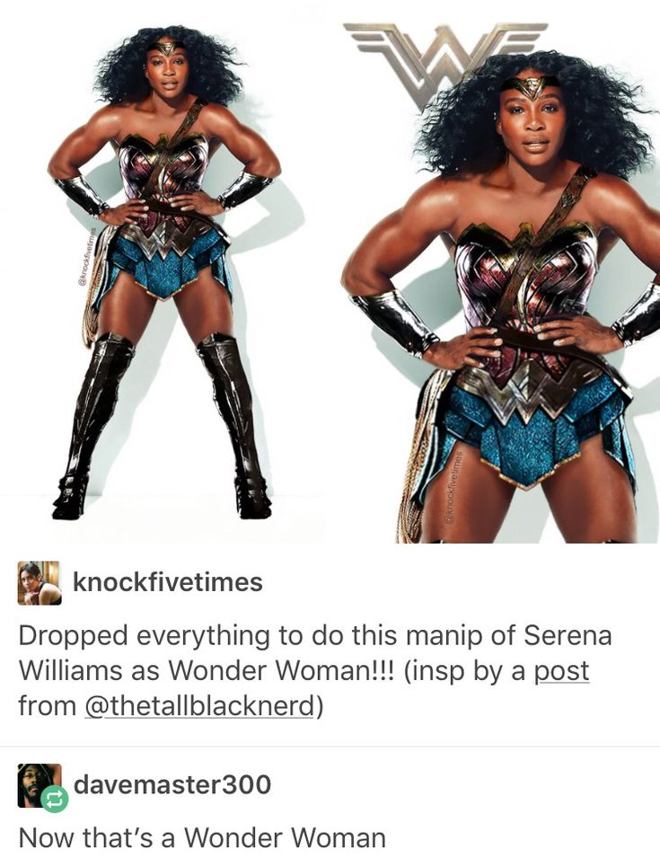 Serena Williams, Wonder Woman, Diana Prince, DC comics, comics