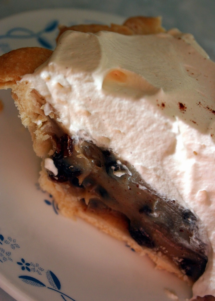Sour Cream Raisin Pie...
