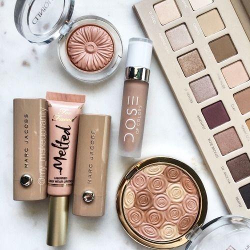 makeup collection aesthetic! makeupflatlay