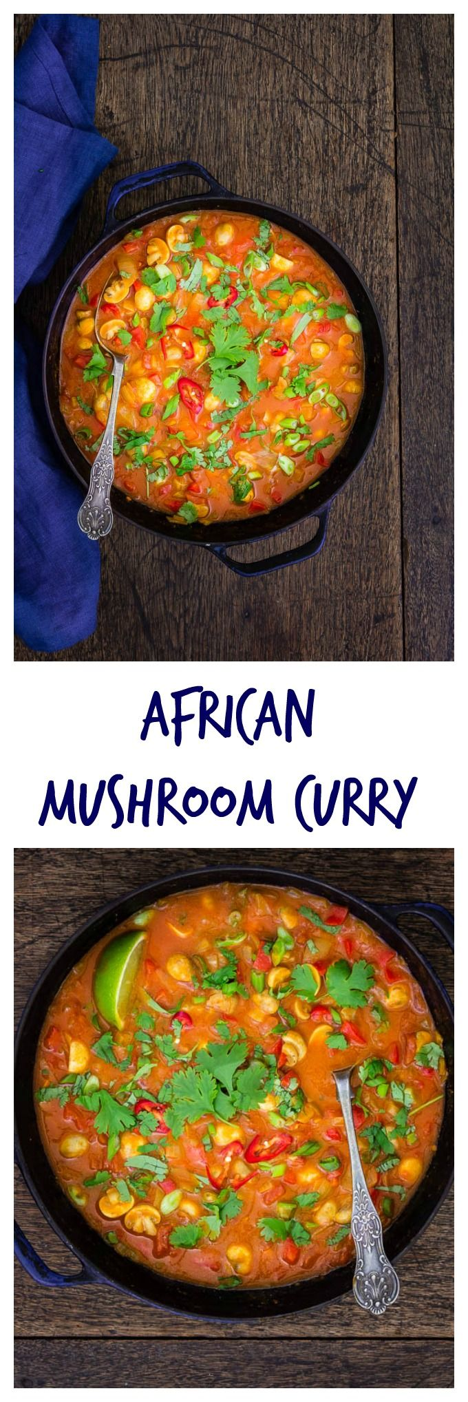 629 best all about the african cuisine images on pinterest african african mushroom curry recipes from a pantry forumfinder Image collections