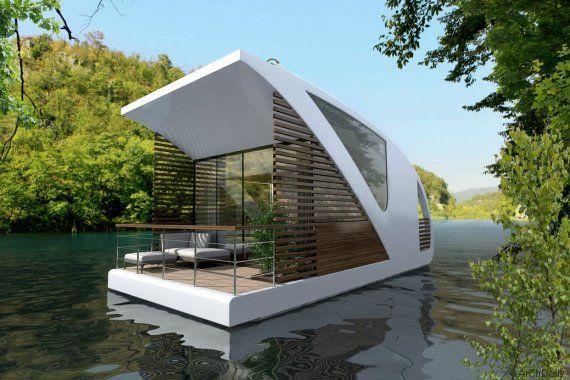 Un hôtel flottant sur les eaux intérieures pour préserver la nature (PHOTOS)