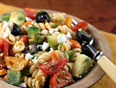 Five favorite pasta salad recipes, for picnics or potluck from The Perfect Pantry (These all look so good!)