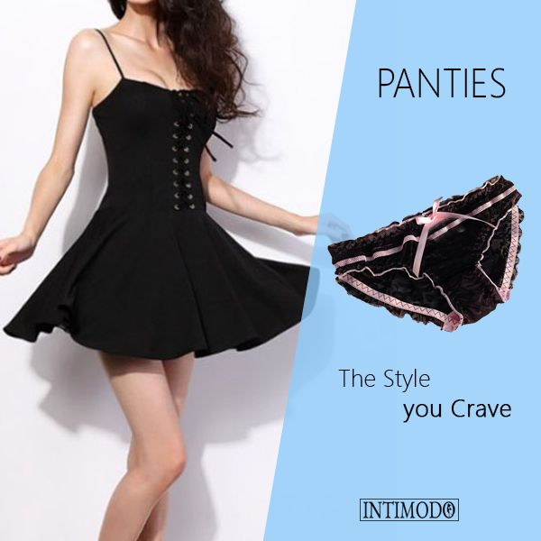 The Style you crave with #fancypanties  #womenpanties, #womenfashion