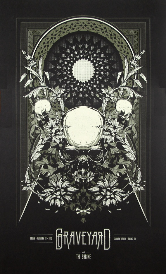 Graveyard - Anonymous Ink & Idea - 2013 ----