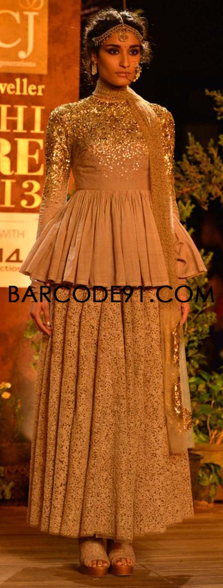 http://www.barcode91.com/designers/sabyasachi.html   Sabyasachi showcases his collection at PCJ Delhi Couture Week, Delhi