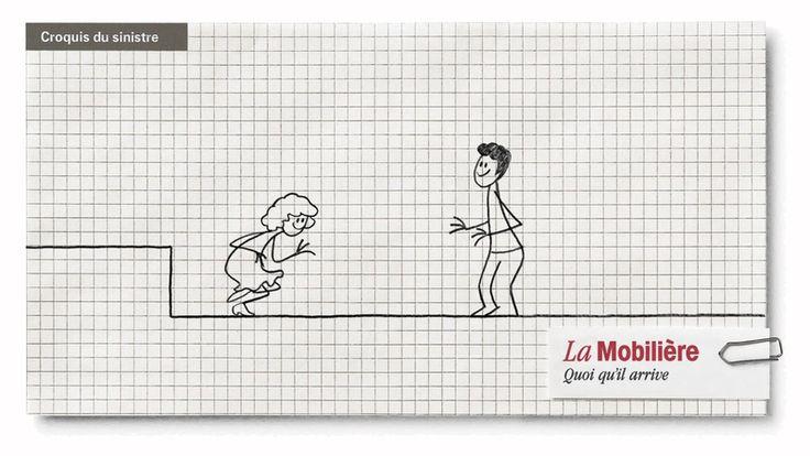 """Vidéos """"Chère Mobilière"""" Savoir raconter un accident au passé composé - expression orale/expression écrite"""