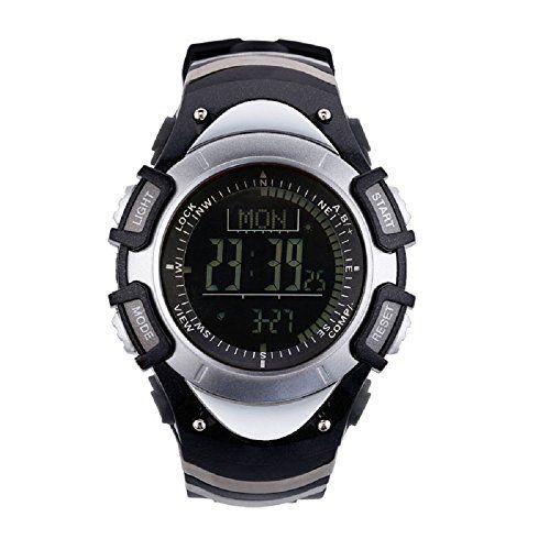 SUNROAD FR8204B 3ATM Waterproof Altimeter Compass Stopwat…