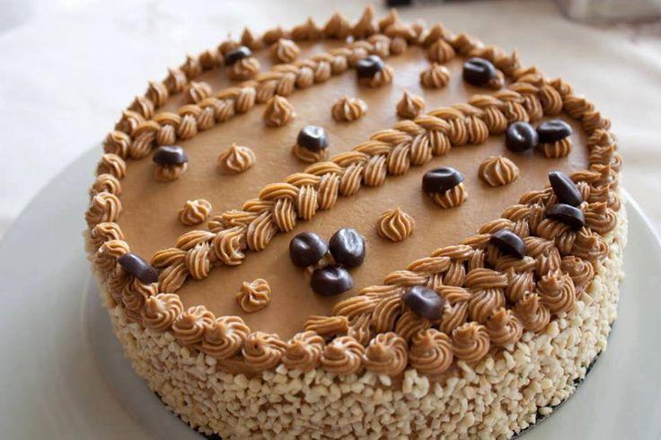 Gâteau Moka très délicieux & facile en plus                                                                                                                                                                                 Plus