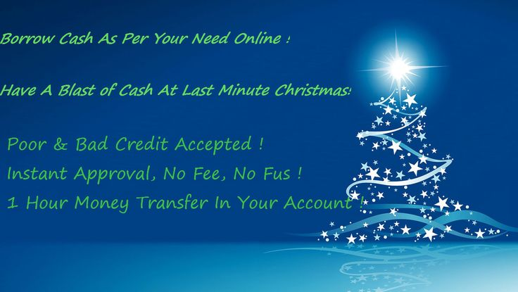 Acquire Cash advance customized to meet your Christmas expenses!  http://1monthloansonline.net/application.html
