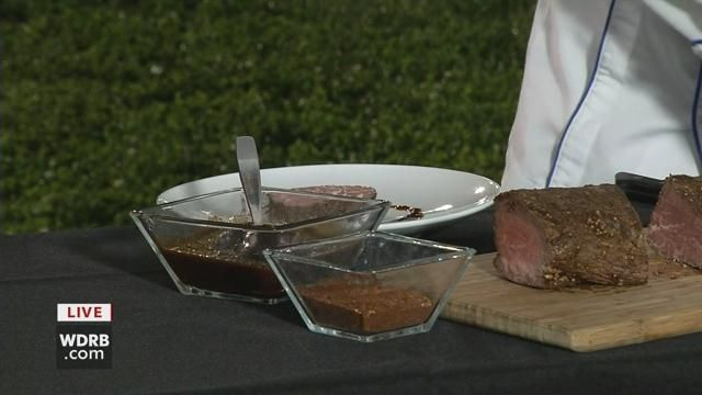 Executive chef James Moran shares the secret behind creating the perfect sauce for beef filet.