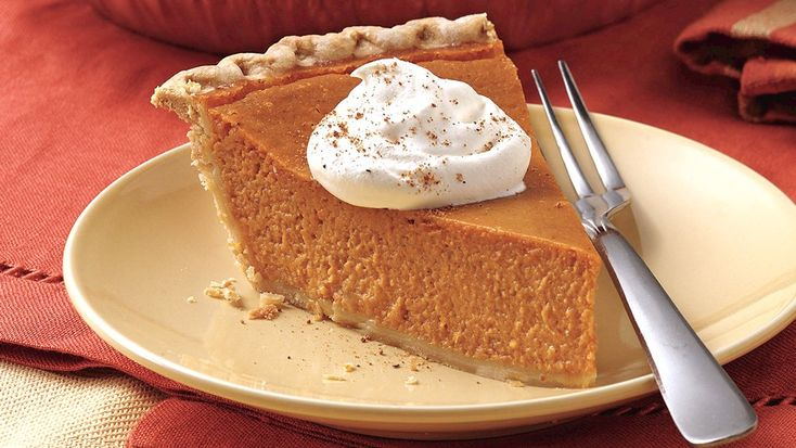 When a pumpkin pie is this easy to make, you don't have to save it for the holidays!