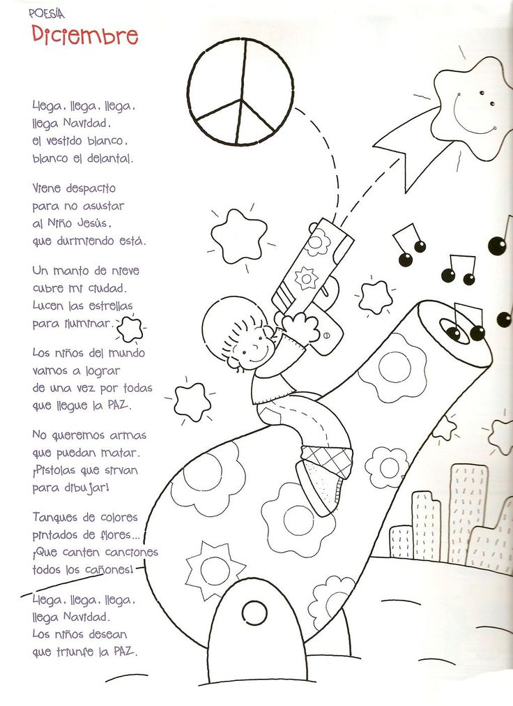 Menta Más Chocolate - RECURSOS PARA EDUCACIÓN INFANTIL: Poesías de los MESES del AÑO