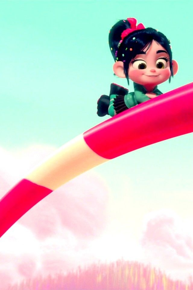 Vanellope Von Schweetz Wreck It Ralph Iphone Wallpapers Feel Free To Use You Can Find More Wallp Wreck It Ralph Cute Disney Wallpaper Animation Movie
