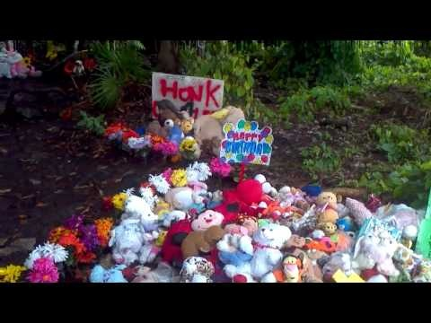 Casey Anthony was acquitted of the murder of her daughter. This is where Caylee Anthony's remains were found. RIP CAYLEE ANTHONY.