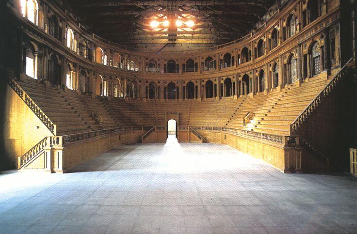 Farnese Theater, Parma, Italy