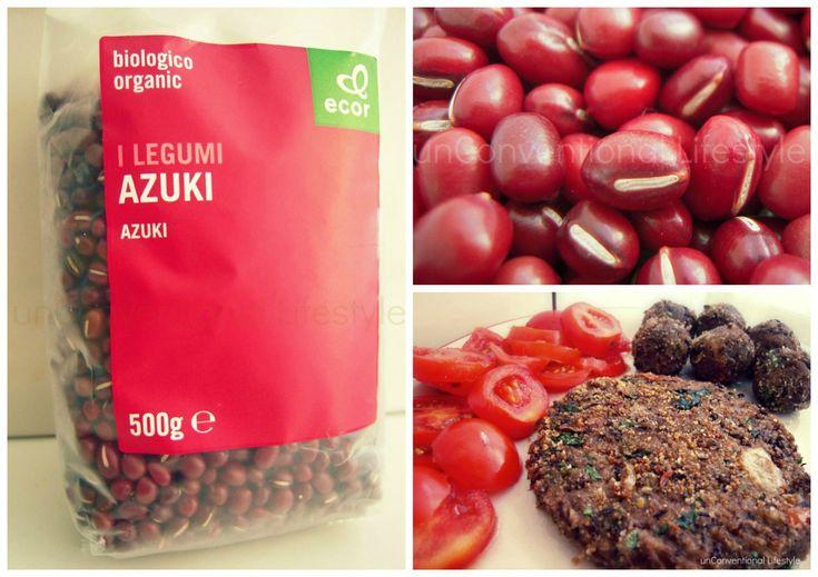 INGREDIENTI (per due persone) 200g di Azuki 1 cipolla dolce prezzemolo 3 pomodorini ciliegino sale pepe pan grattato 2 cucchiai di olio extravergine di oliva PREPARAZIONE Cuocere gli Azuki in acqua...