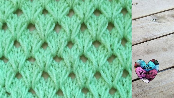 Tricot Merveilleux point tricot / Maravilloso punto tejido a dos agujas