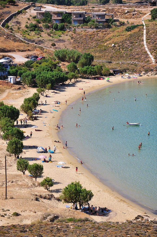 Psili Ammos beach, Serifos Greece