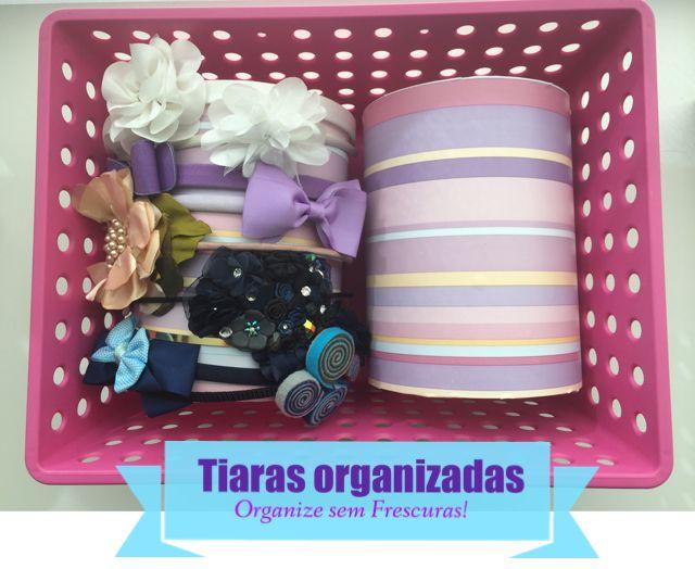 Organize sem Frescuras | Rafaela Oliveira » Arquivos » Faça Você Mesmo: organizador de tiaras com canos de PVC
