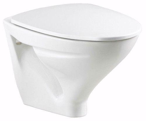 Ifö Sign vegghengt toalettskål 6875. Pris 800,- L: 49 cm