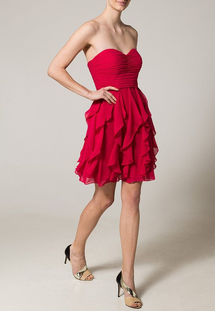 LAONA Cocktail-Stufenkleid in Strawberry Pink