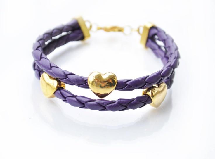Hand made jewellery; bracelet by Martyna; find on www.facebook.com/BizuteriaLowyt