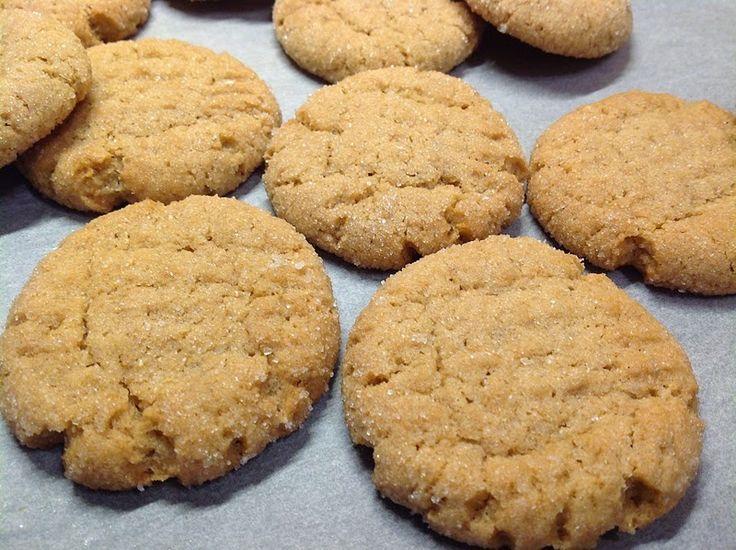 Banana peanut butter cookies / Banánové cookies s burákovým máslem
