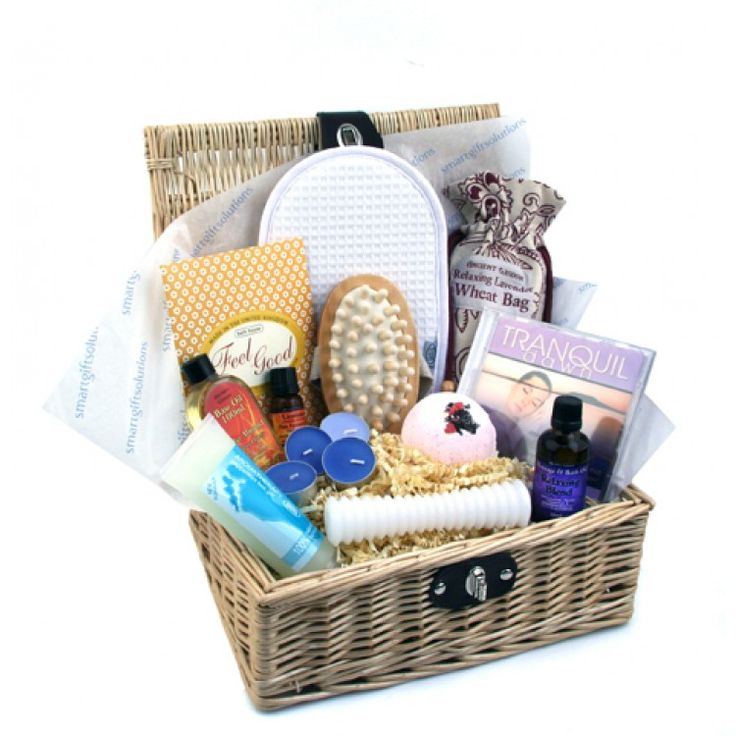 Feel Good Luxury Aromatherapy Gift Basket #aromatherapygifts
