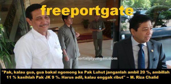 Jika Luhut Teruskan Proses Divestasi Maka Rekaman Papa Minta Saham TERBUKTI KEBENARANNYA  [portalpiyungan.com]Hari ini bisa jadi merupakan hari yang spesial bagi Luhut Binsar Panjaitan. Karena hari pertama menjadi Plt Menteri ESDM. Padahal dia juga menjabat sebagai menko kemaritiman. Dengan kata lain Luhut rangkap jabatan menteri. Suatu hal yang selama ini berulang kali dijanjikan Jokowi tak akan terjadi dalam pemerintahannya. Seperti diketahui dalam kurun waktu 21 hari masa kerja mantan…