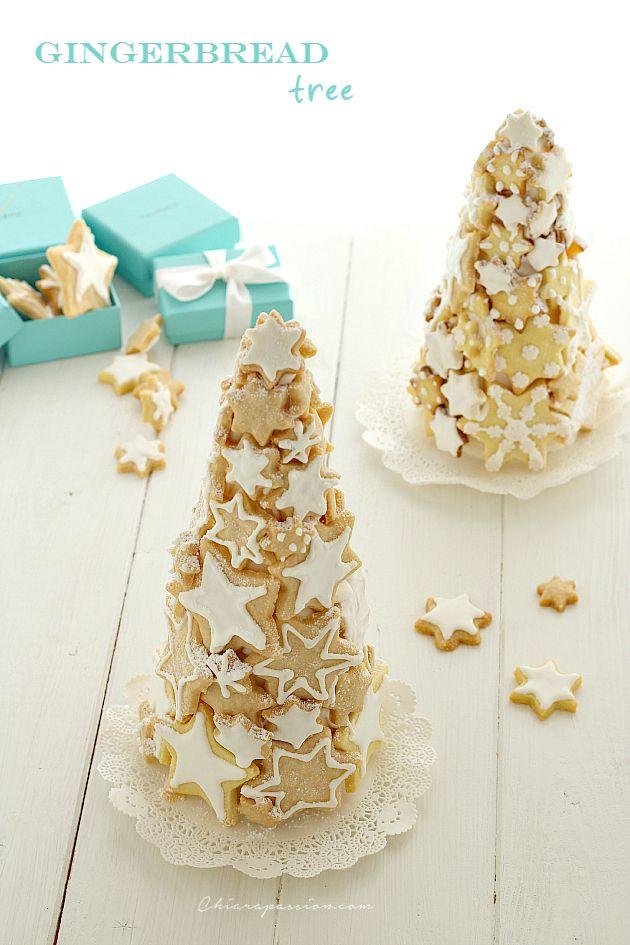 Chiarapassion: Gingerbread tree, albero di biscotti http://www.chiarapassion.com/2014/12/gingerbread-tree-albero-biscotti.html