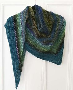Ravelry: Noro Woven Stitch Shawl pattern by Z apasi - free Ravelry download