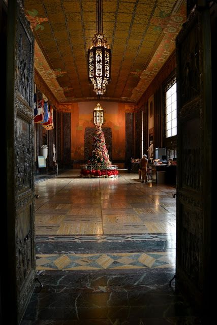 Интерьер Капитолия Луизианы, Батон Руж (Louisiana State Capitol, LA)