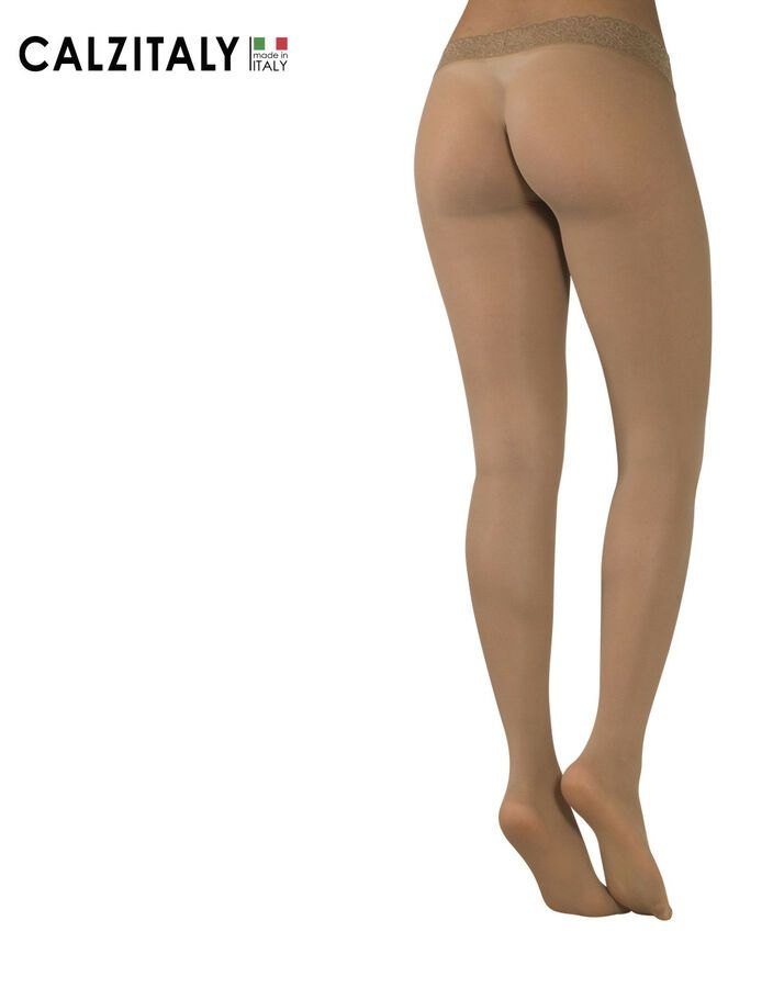 d8c32a40df537 Seamless Tights With Lace Top, Seamless Hosiery Pantyhose, 15 DEN, Made in  Italy#Lace#Top#Seamless