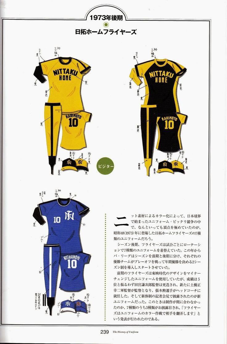 Uniformes Japoneses   de basebol