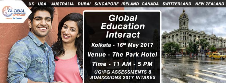 Global Education Interact 2017 is the largest education fair in India and now coming to everyone's favourite city of joy- Kolkata! It is a wonderful platform for all study abroad aspirants and the world ranking universities for information exchange on study abroad. Read on to know more about GEI 2017!