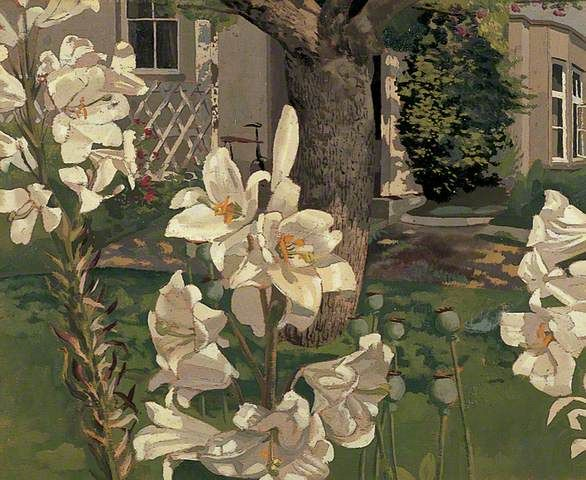 Your Paintings - Stanley Spencer paintings Madonna lilies