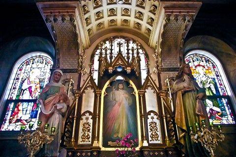 Divine Mercy at St John Cantius Roman Catholic Church Chicago