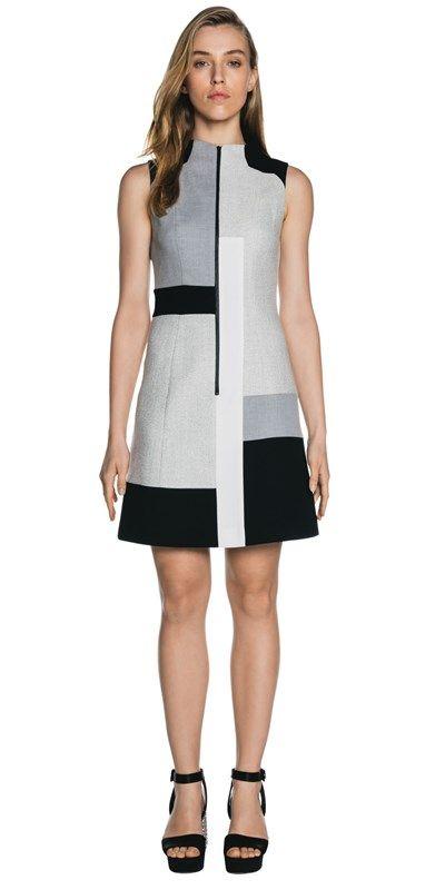Dresses | Block Grid Panel Dress