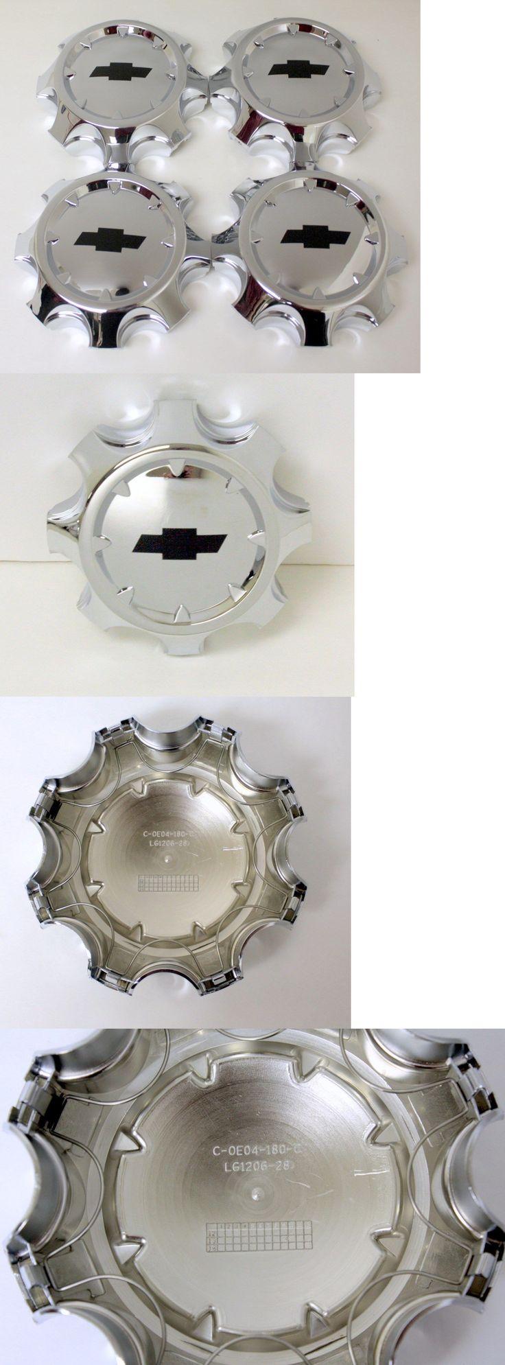 Auto parts general set of 4 chrome 2011 2016 chevy silverado 2500 center