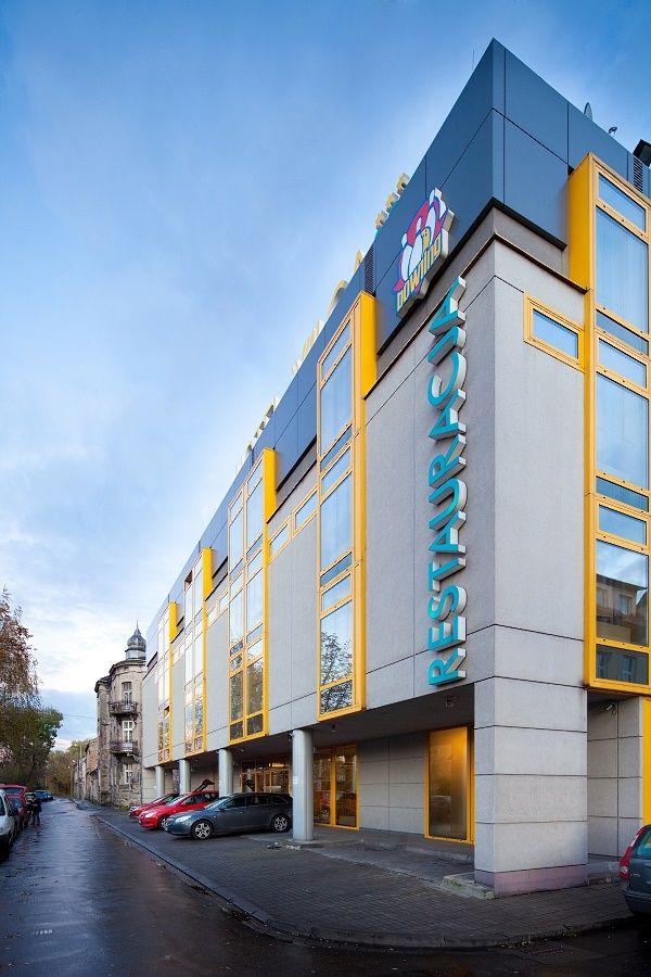 Zdjęcia architektoniczne Hotel Wilga w Krakowie. Fotografia reklamowa Hotelu Kraków.
