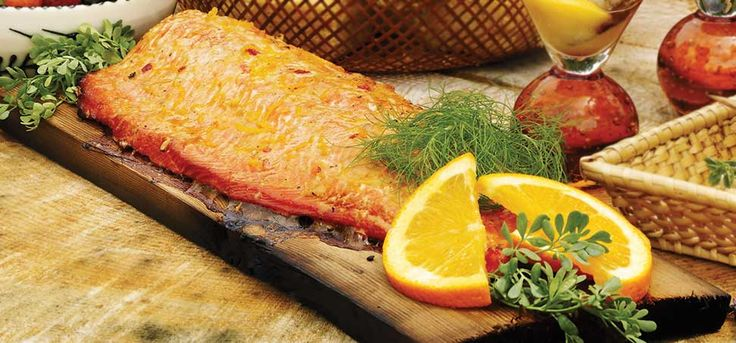 Broil King Recipes - Cedar Plank Salmon With Asian Ginger Marinade