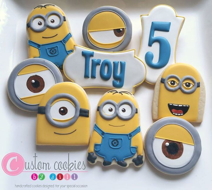 Minion cookies! https://cookiecutter.com/minion-cookie-cutter.htm
