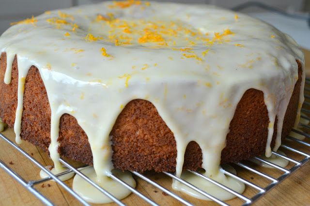Minneola Orange Cake - The View from Great Island