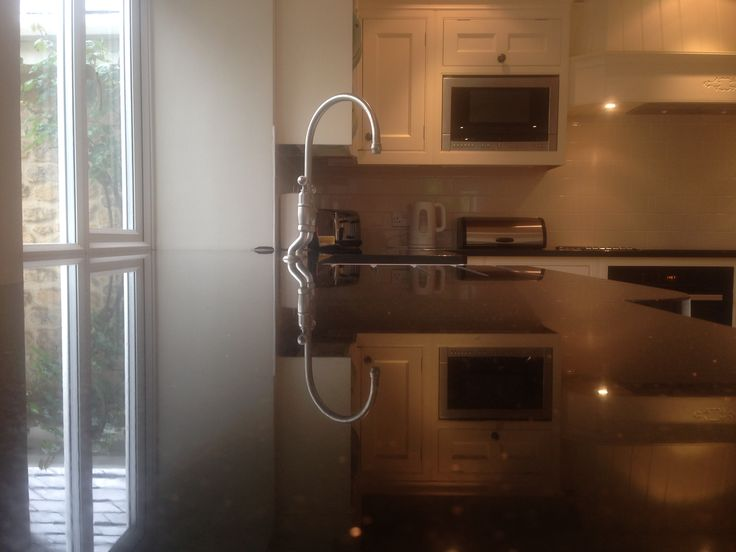Lovely Clean Granite Kitchen Worktop cleaned by our super-cleaning-team at Manor Lodge