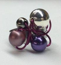 Isabelle Lehoux Montréal - Bague Design violet